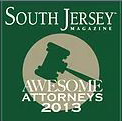 South Jersey Awesome Attorneys 2013 Award