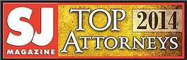 SJ Magazine Top Attorneys 2014 Award