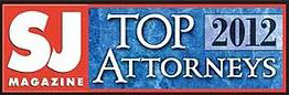 SJ Magazine Top Attorneys 2012 Award