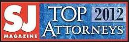 SJ Magazine Top Attorneys 2012 Award